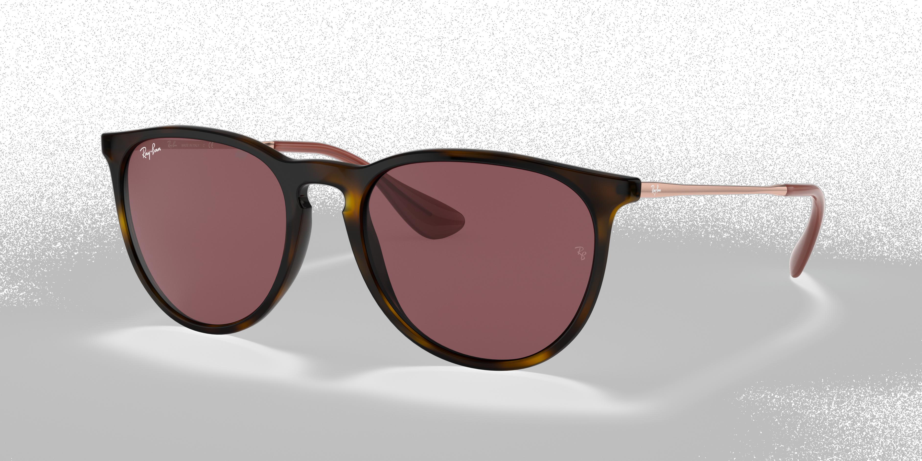 Ray-Ban Erika Color Mix Bronze-Copper, Violet Lenses - RB4171