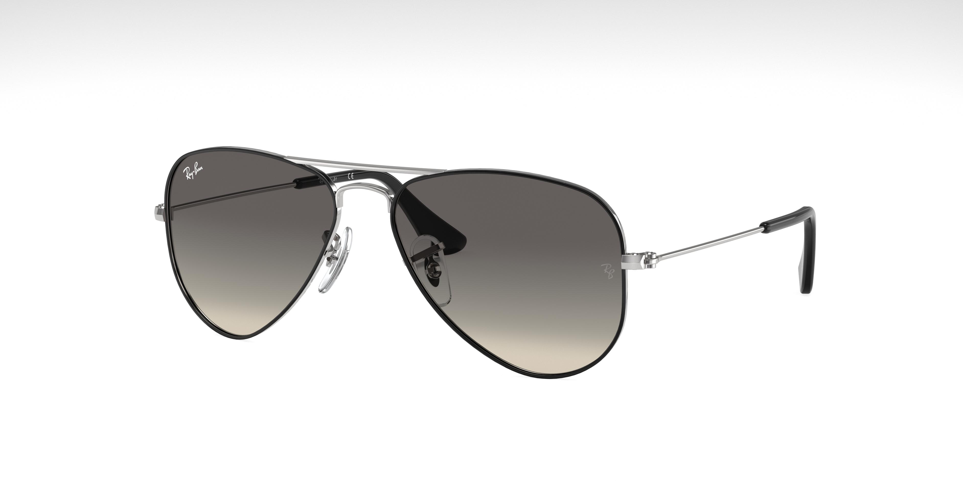 Ray-Ban Aviator Junior Silver, Gray Lenses - RJ9506S