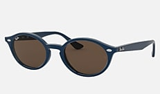 Ray-Ban RB4315F 125873 53-21 RB4315F (JPフィット) ブルー 新作サングラス