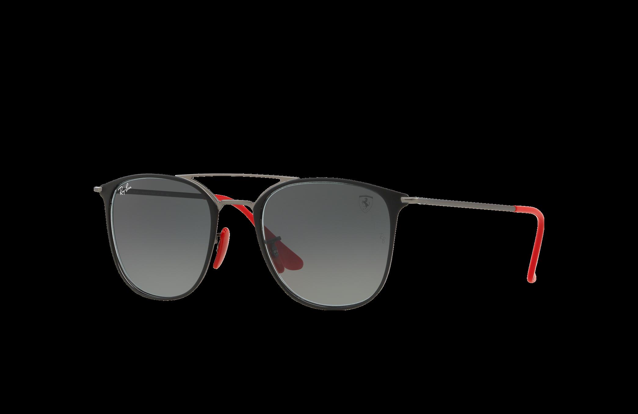 Ray-Ban Scuderia Ferrari Japan Limited Edition Gunmetal, Gray Lenses - RB3601M