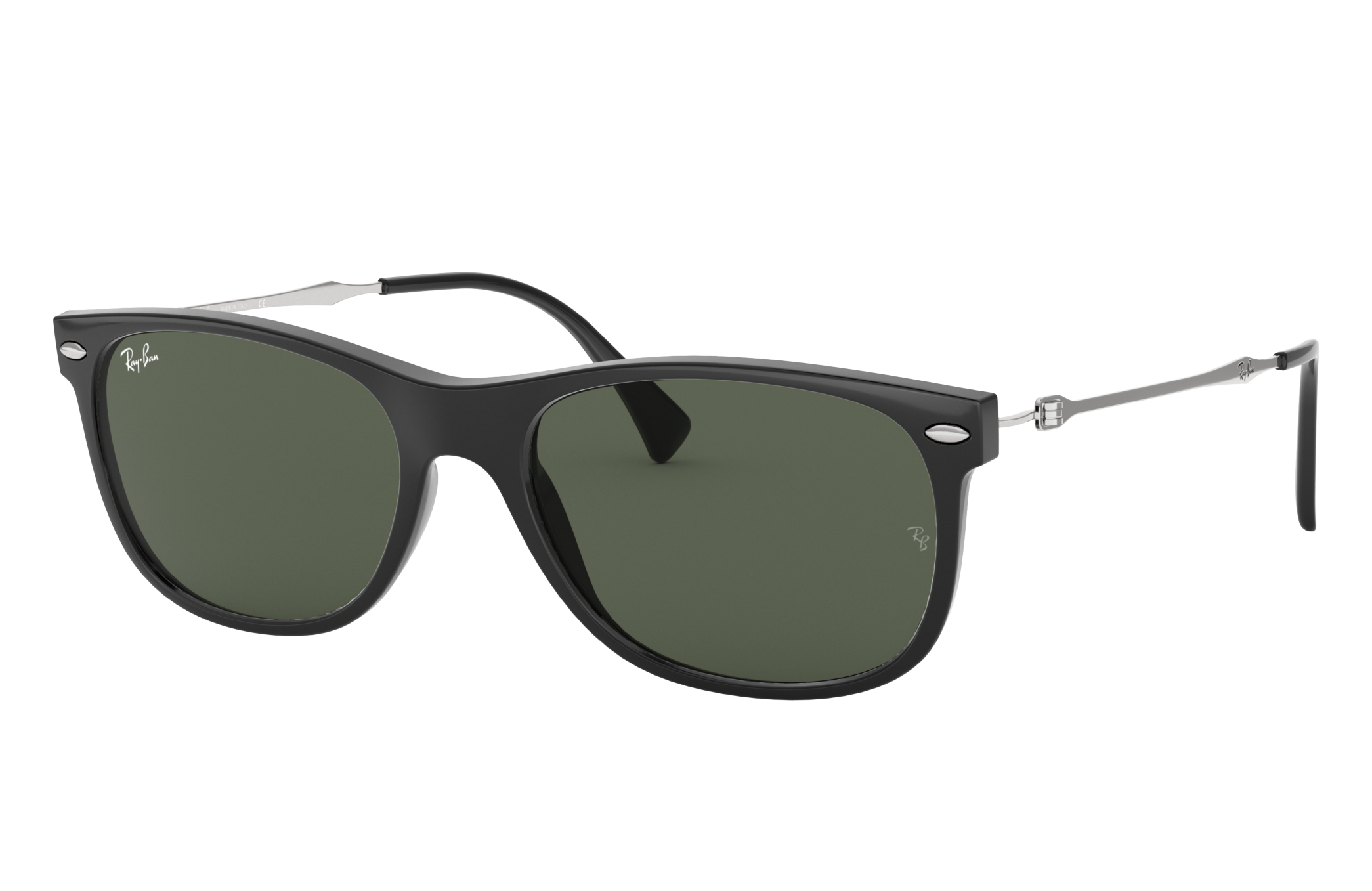 Ray-Ban Rb4318 Silver, Green Lenses - RB4318