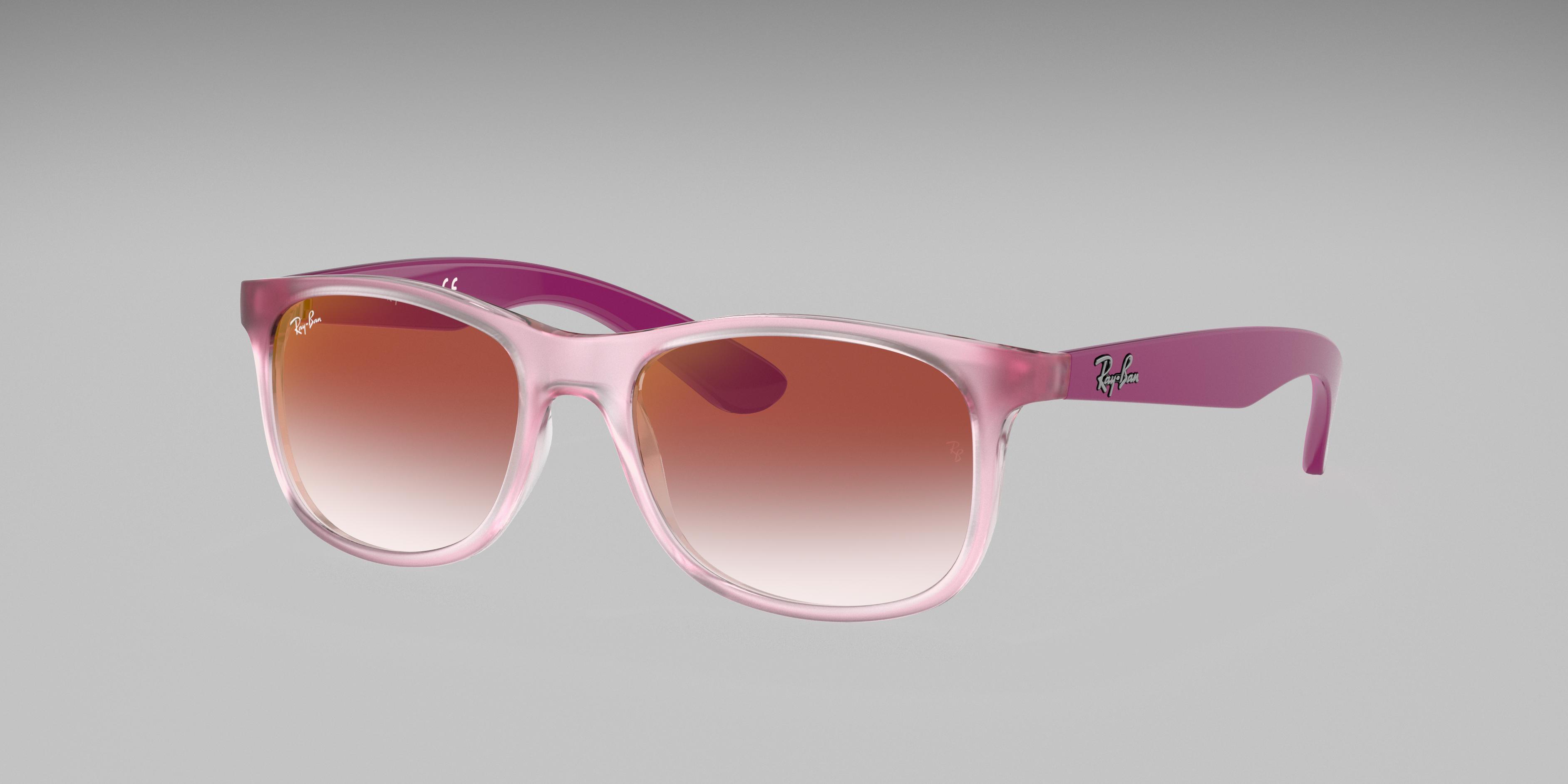 Ray-Ban Rj9062s Pink, Red Lenses - RJ9062S