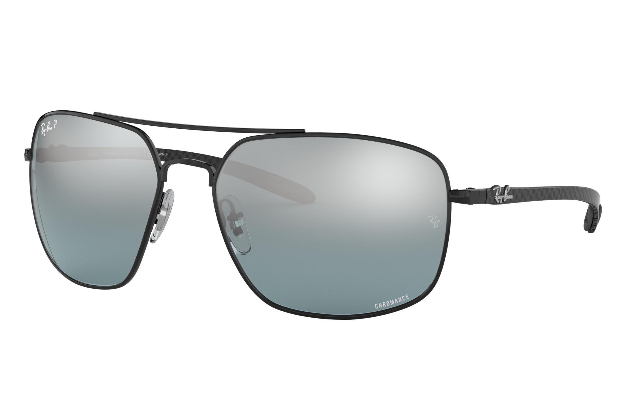 Ray-Ban Rb8322 Chromance Black, Polarized Gray Lenses - RB8322CH