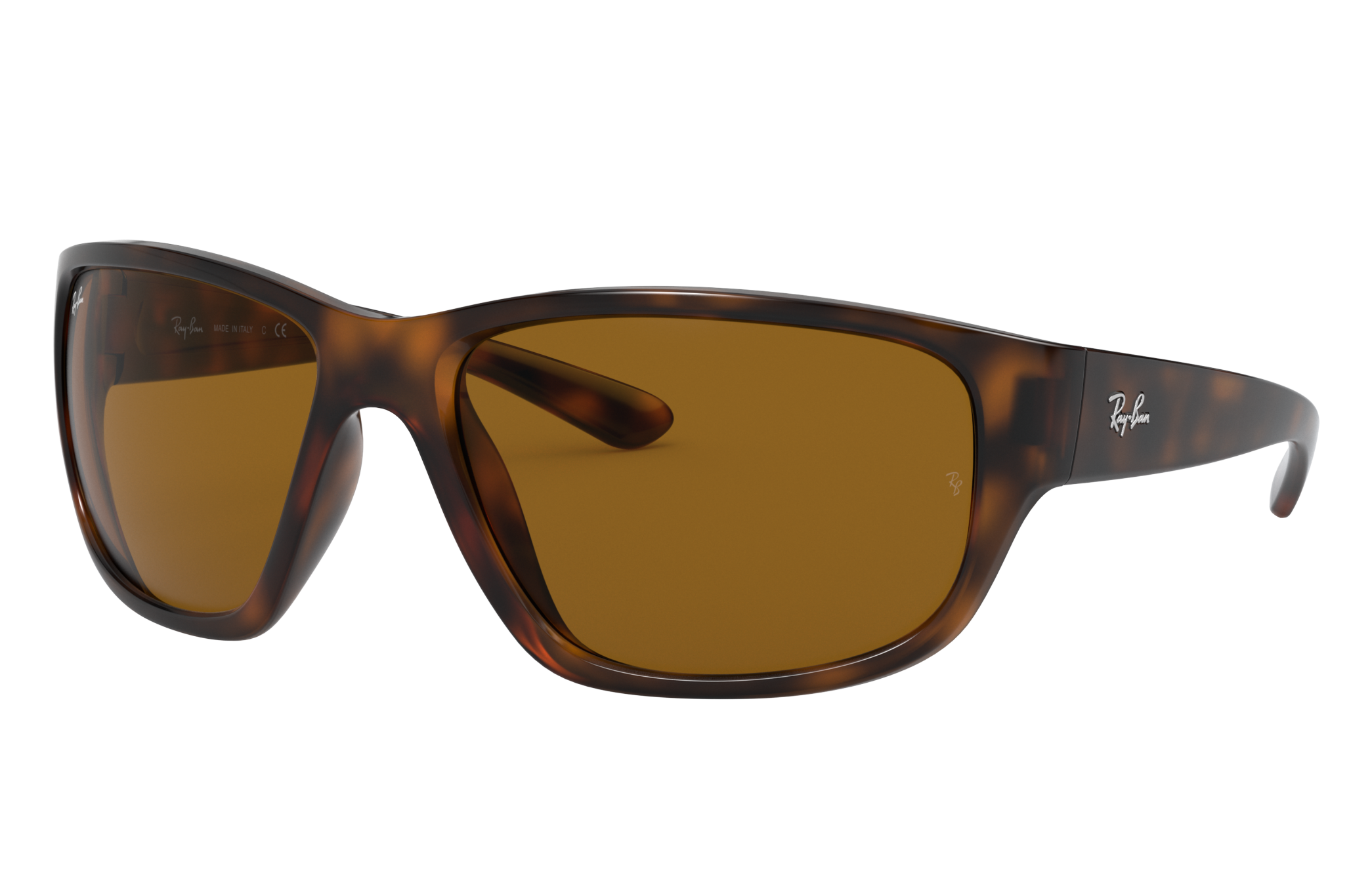 Ray-Ban Rb4300 Tortoise, Brown Lenses - RB4300