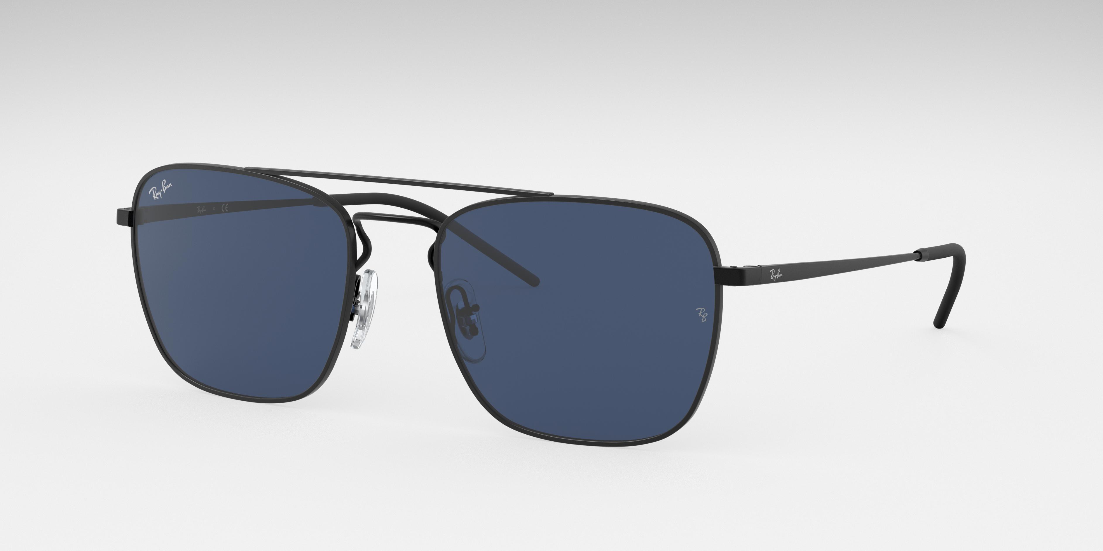 Ray-Ban Rb3588 Black, Blue Lenses - RB3588