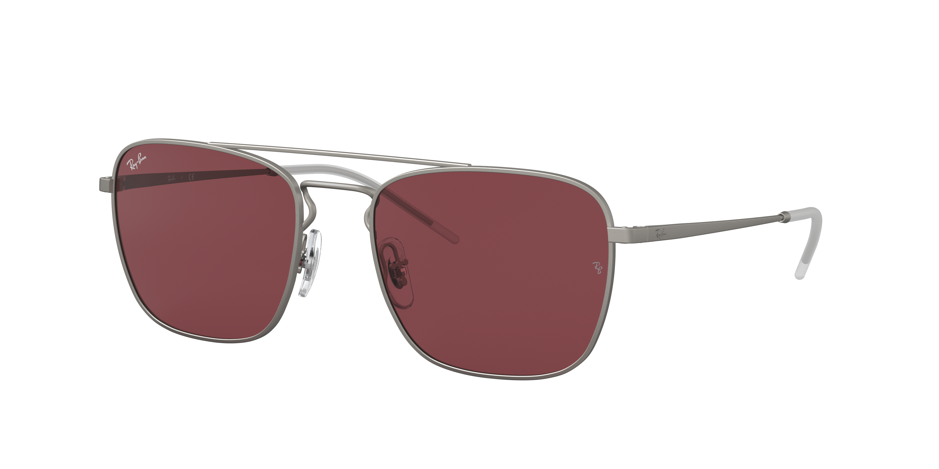 Ray-Ban Rb3588 Silver, Violet Lenses - RB3588