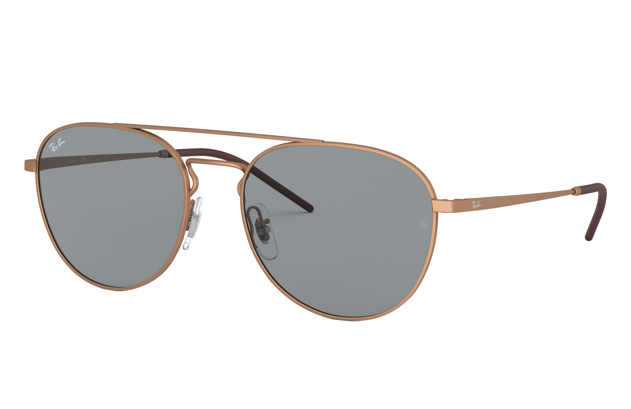 Ray-Ban Rb3589 Bronze-Copper, Grey Lenses - RB3589