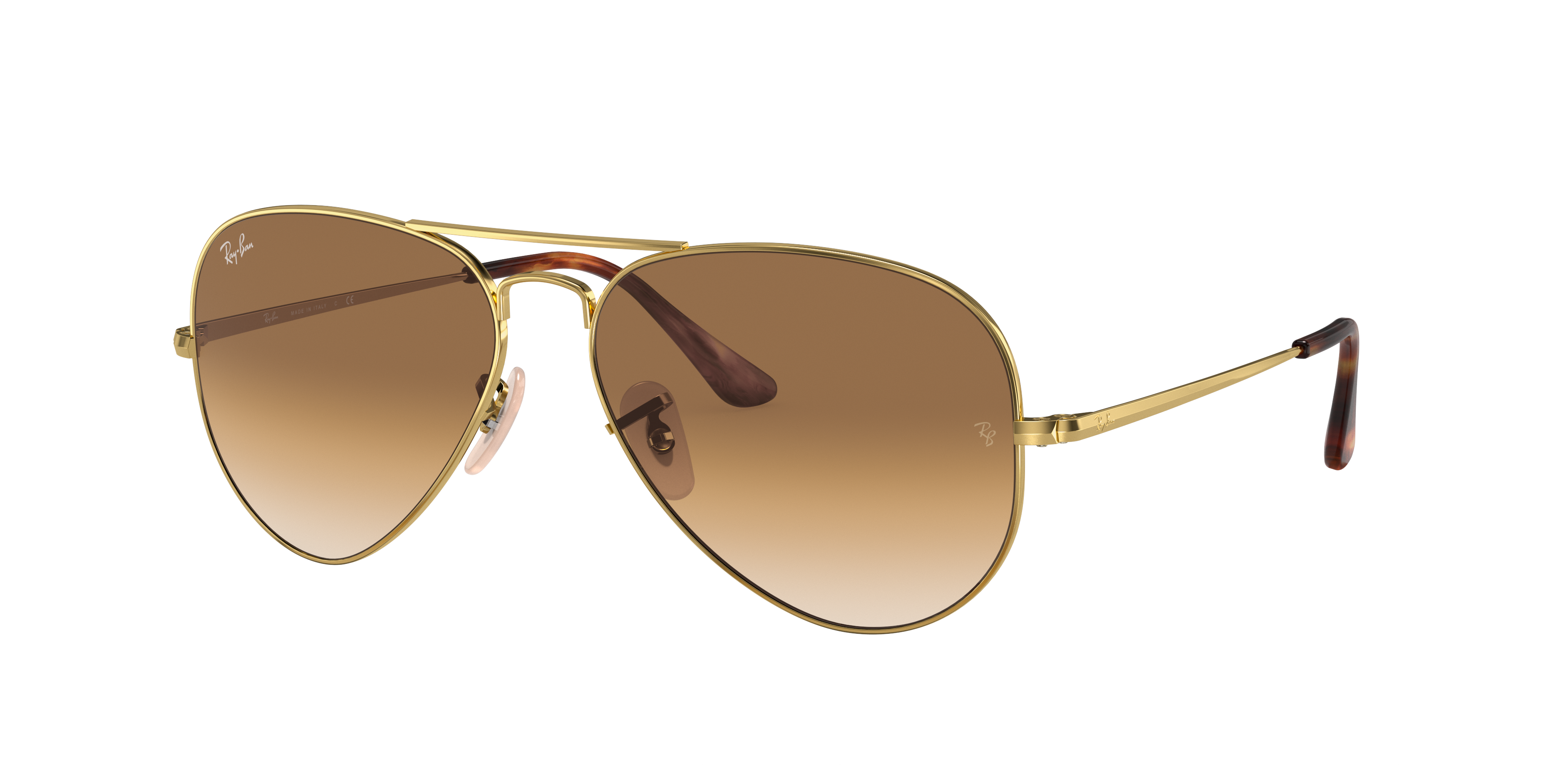 Ray-Ban Rb3689 Gold, Brown Lenses - RB3689
