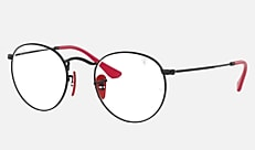 Ray-Ban RX3447VM F028 50-21 RX3447VM SCUDERIA FERRARI COLLECTION ブラック 新作サングラス