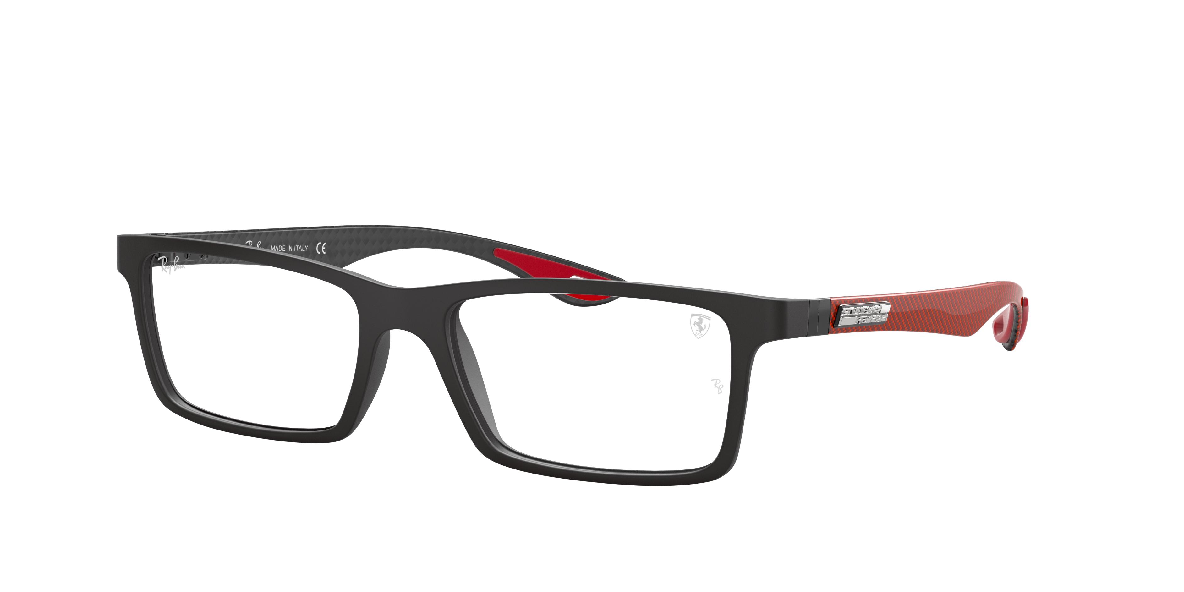 Ray Ban Eyeglasses Rb8901m Black Injected 0rx8901mf63455 Ray Ban Eu