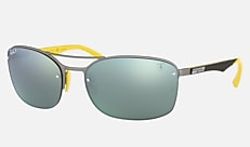 Ray-Ban RB3617M F003H1 63-18 RB3617M SCUDERIA FERRARI COLLECTION マットガンメタル 新作サングラス