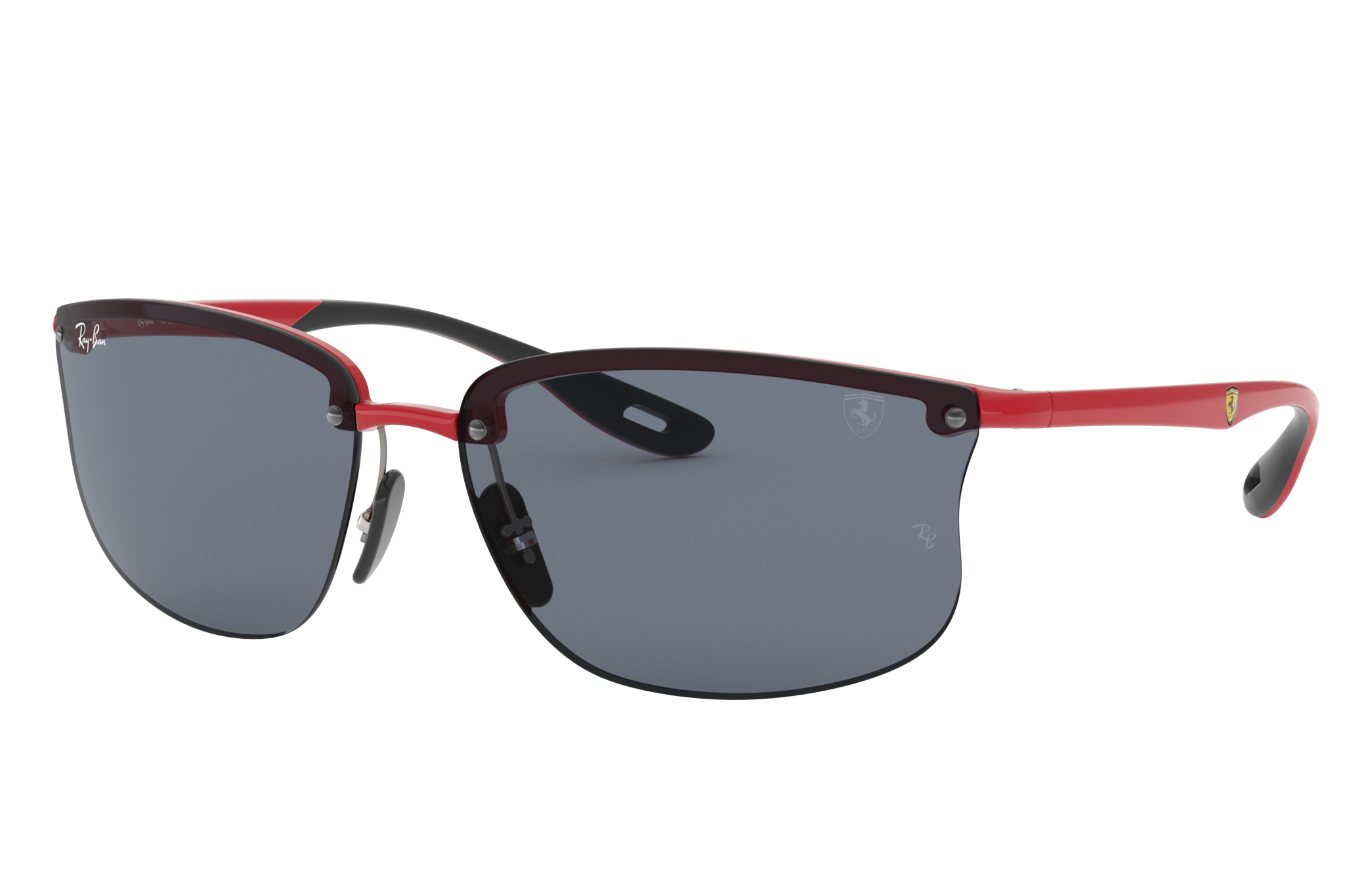 Ray-Ban Rb4322m Scuderia Ferrari Collection Red, Grey Lenses - RB4322M