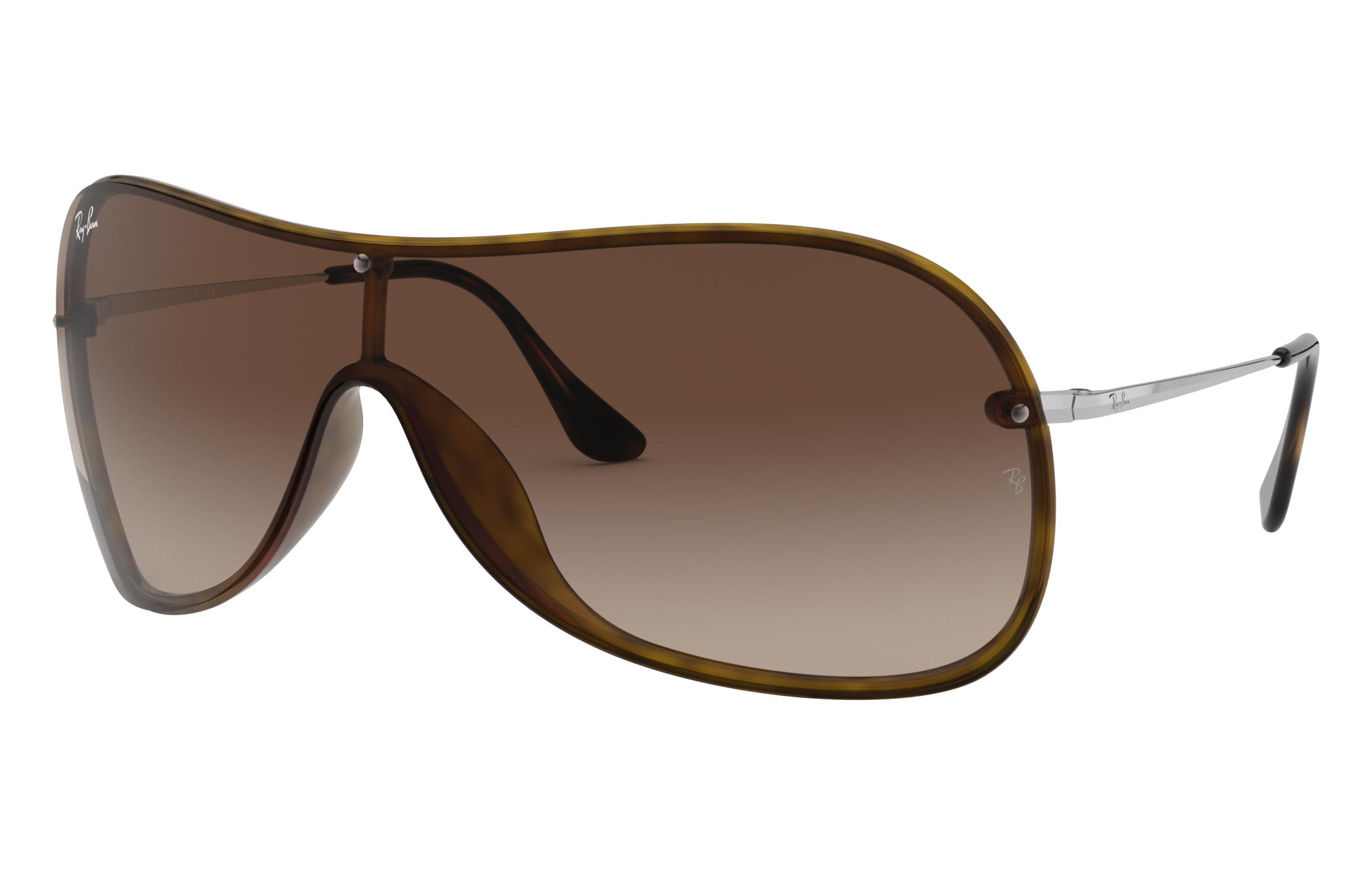 Ray-Ban Rb4411 Silver, Brown Lenses - RB4411