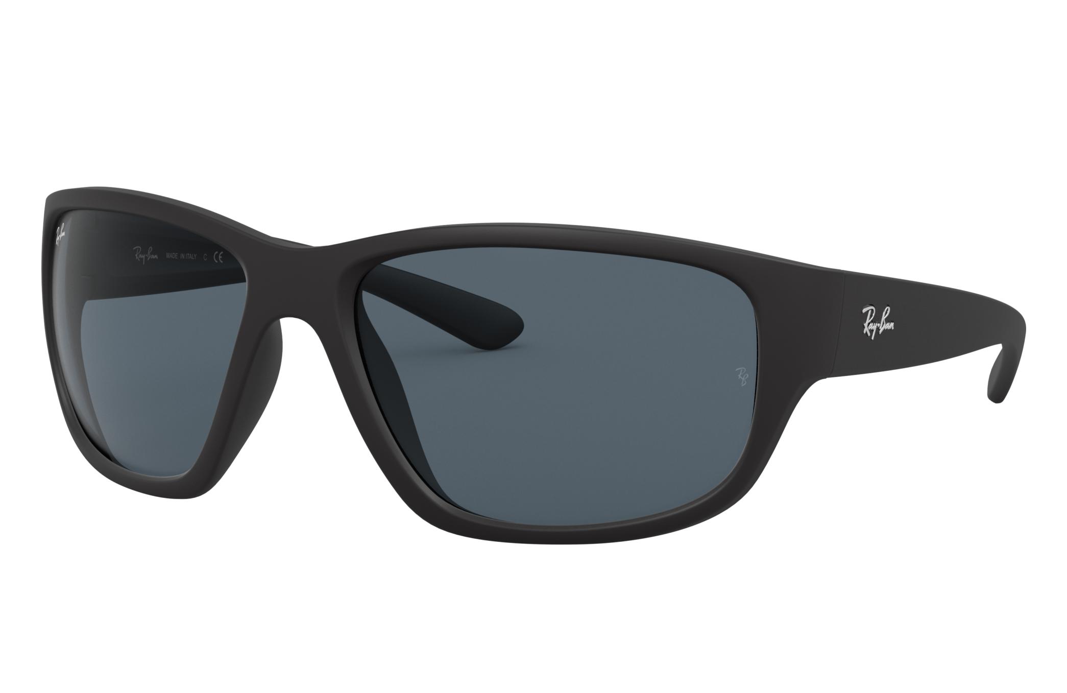 Ray-Ban Rb4300 Black, Blue Lenses - RB4300