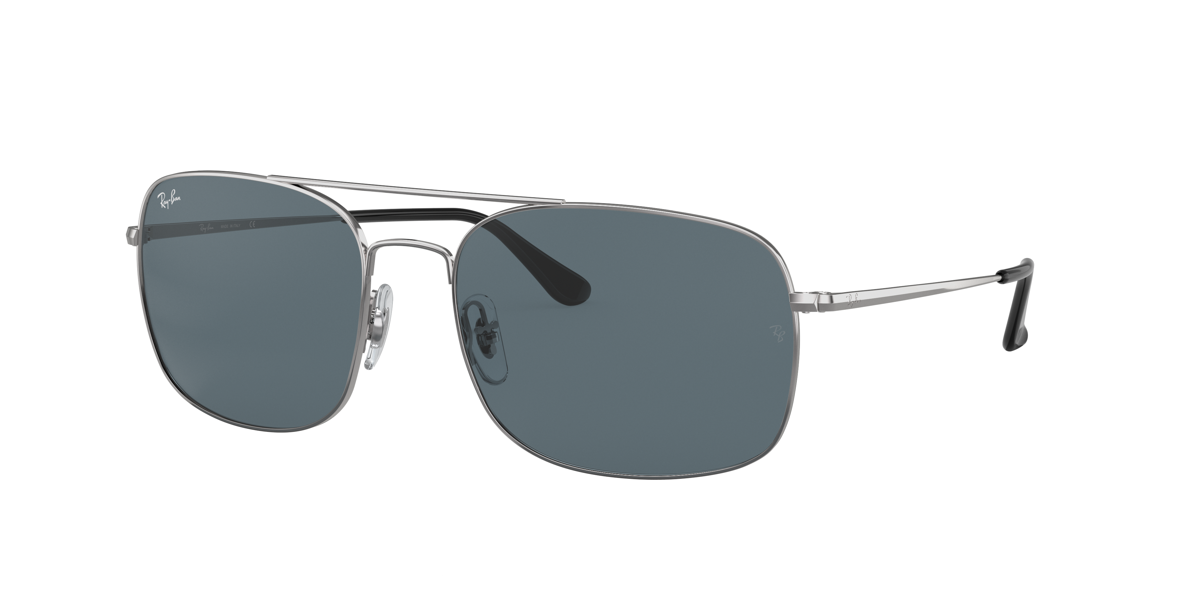 Ray-Ban Rb3611 Silver, Blue Lenses - RB3611