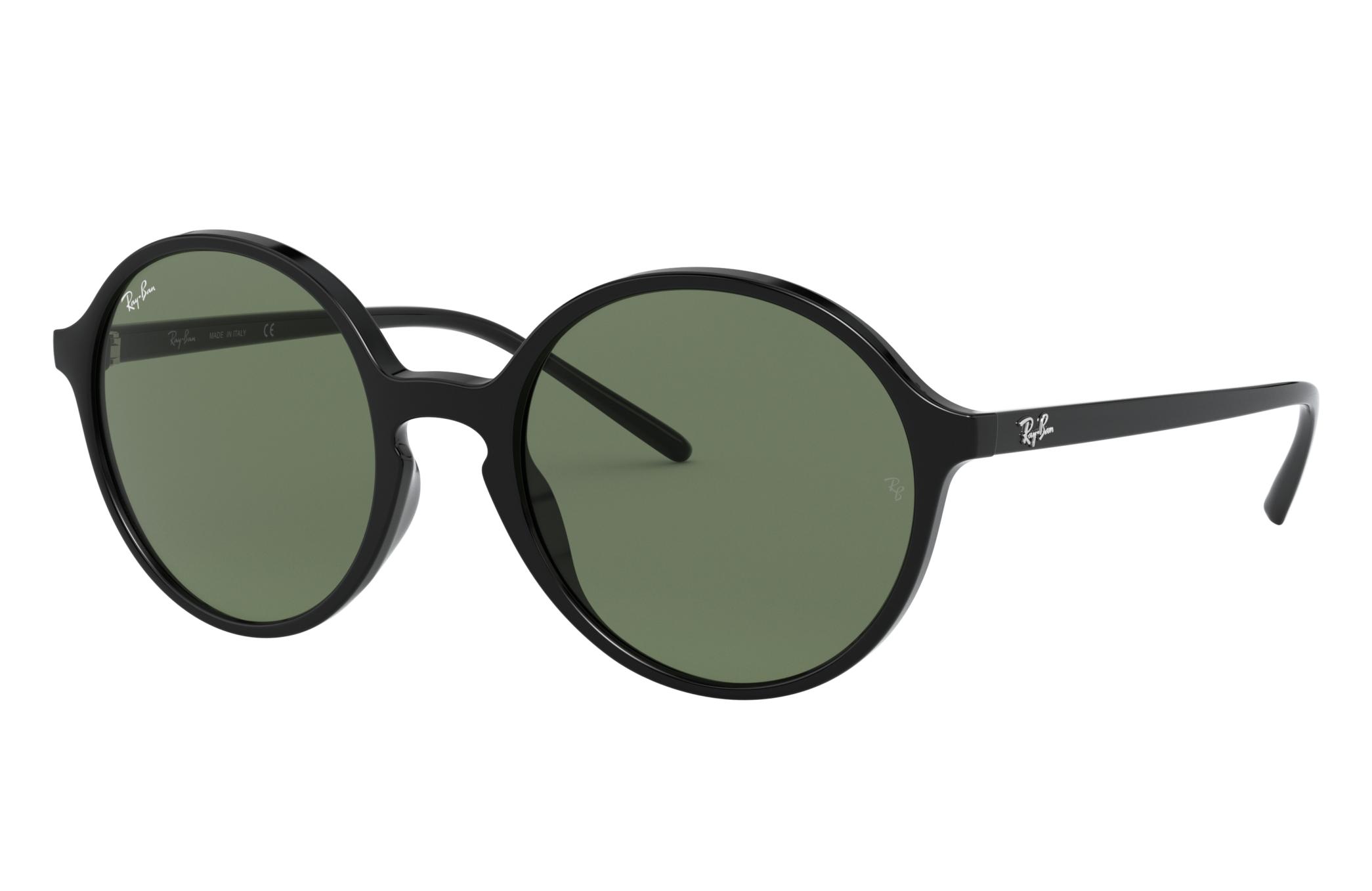 Ray-Ban Rb4304 Black, Green Lenses - RB4304