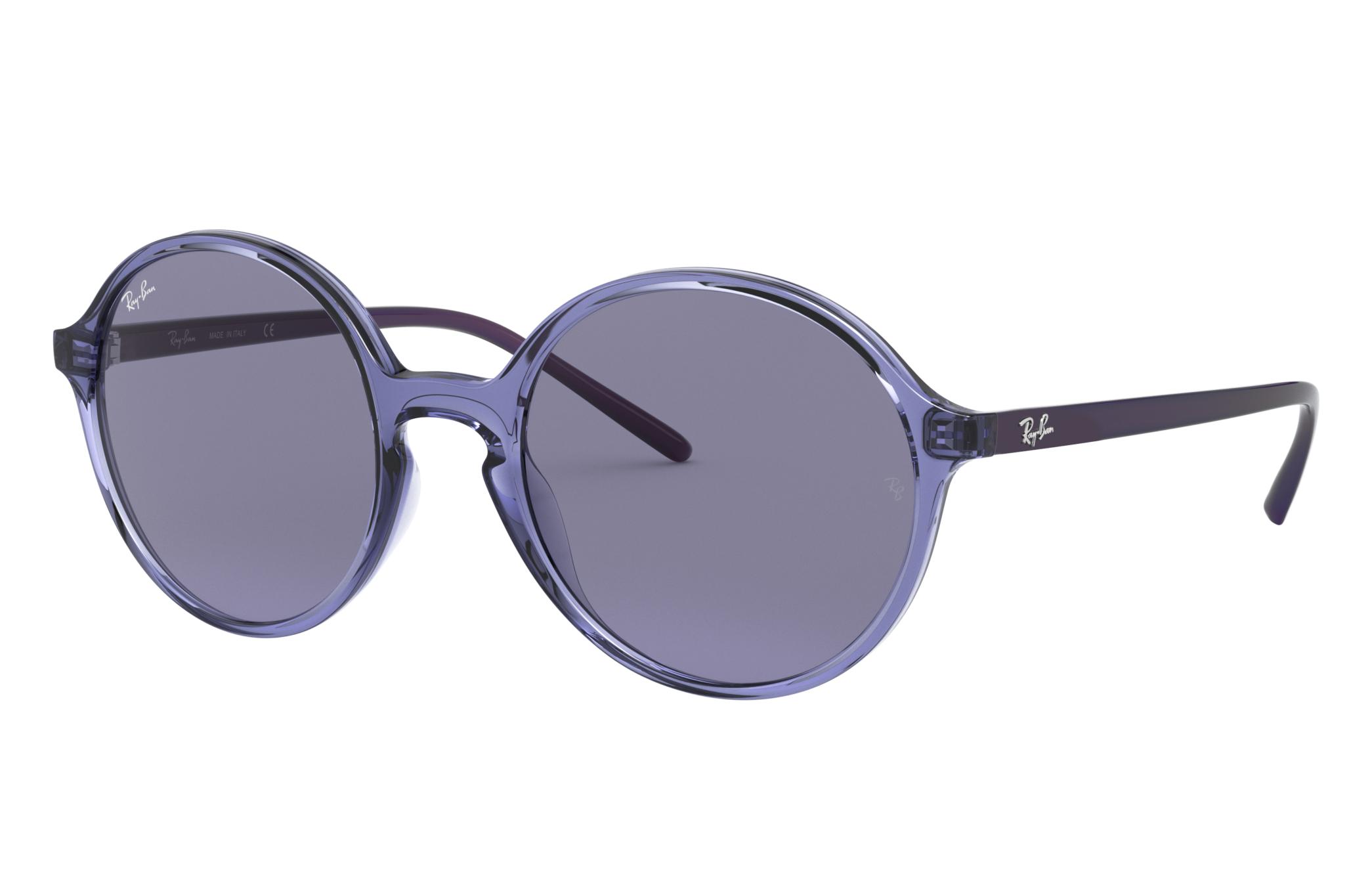 Ray-Ban Rb4304 Violet, Blue Lenses - RB4304