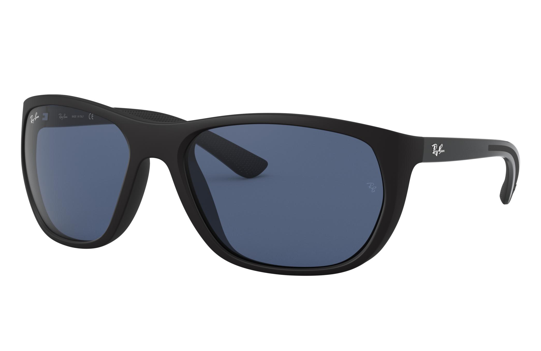 Ray-Ban Rb4307 Black, Blue Lenses - RB4307
