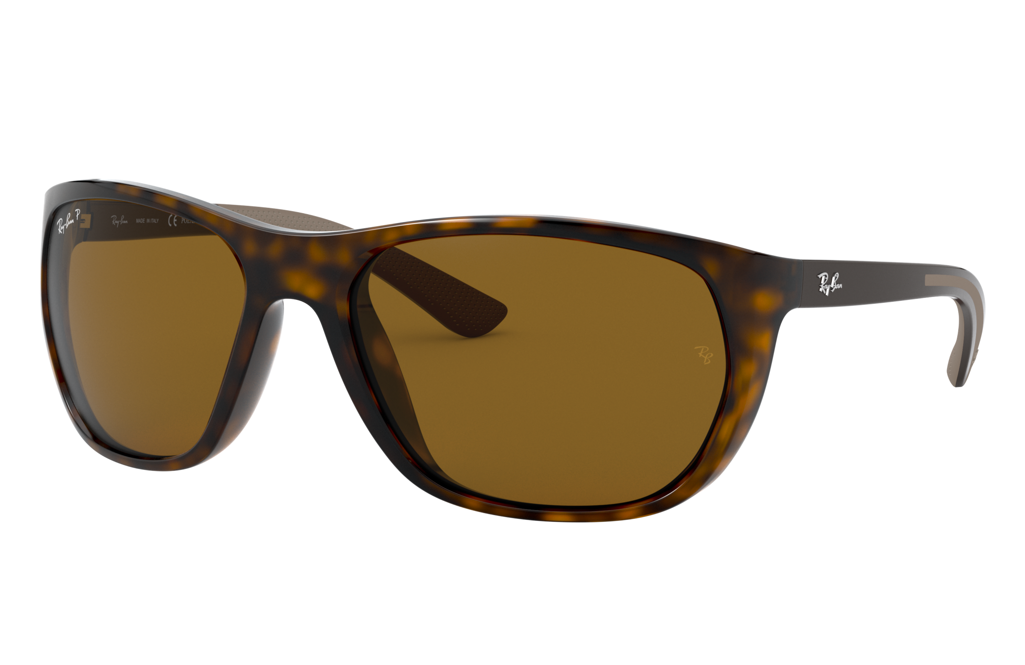 Ray-Ban Rb4307 Brown, Polarized Brown Lenses - RB4307