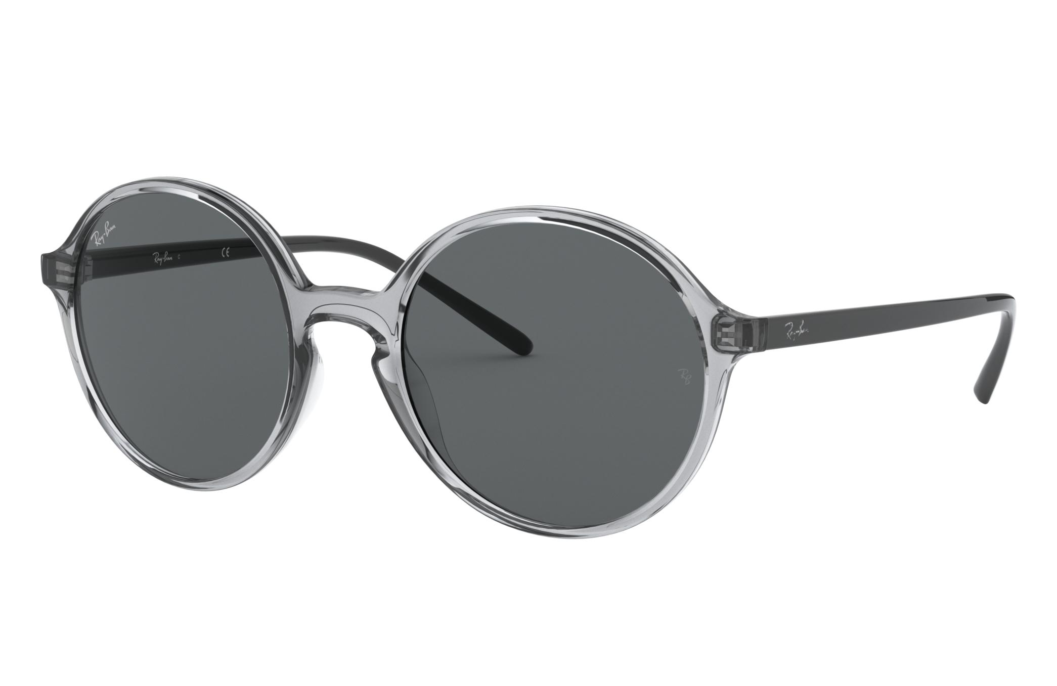 Ray-Ban Rb4304 Low Bridge Fit Grey, Gray Lenses - RB4304F