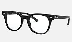 Ray-Ban RX5377F 2000 52-20 METEOR(JPフィット) ブラック 新作メガネ