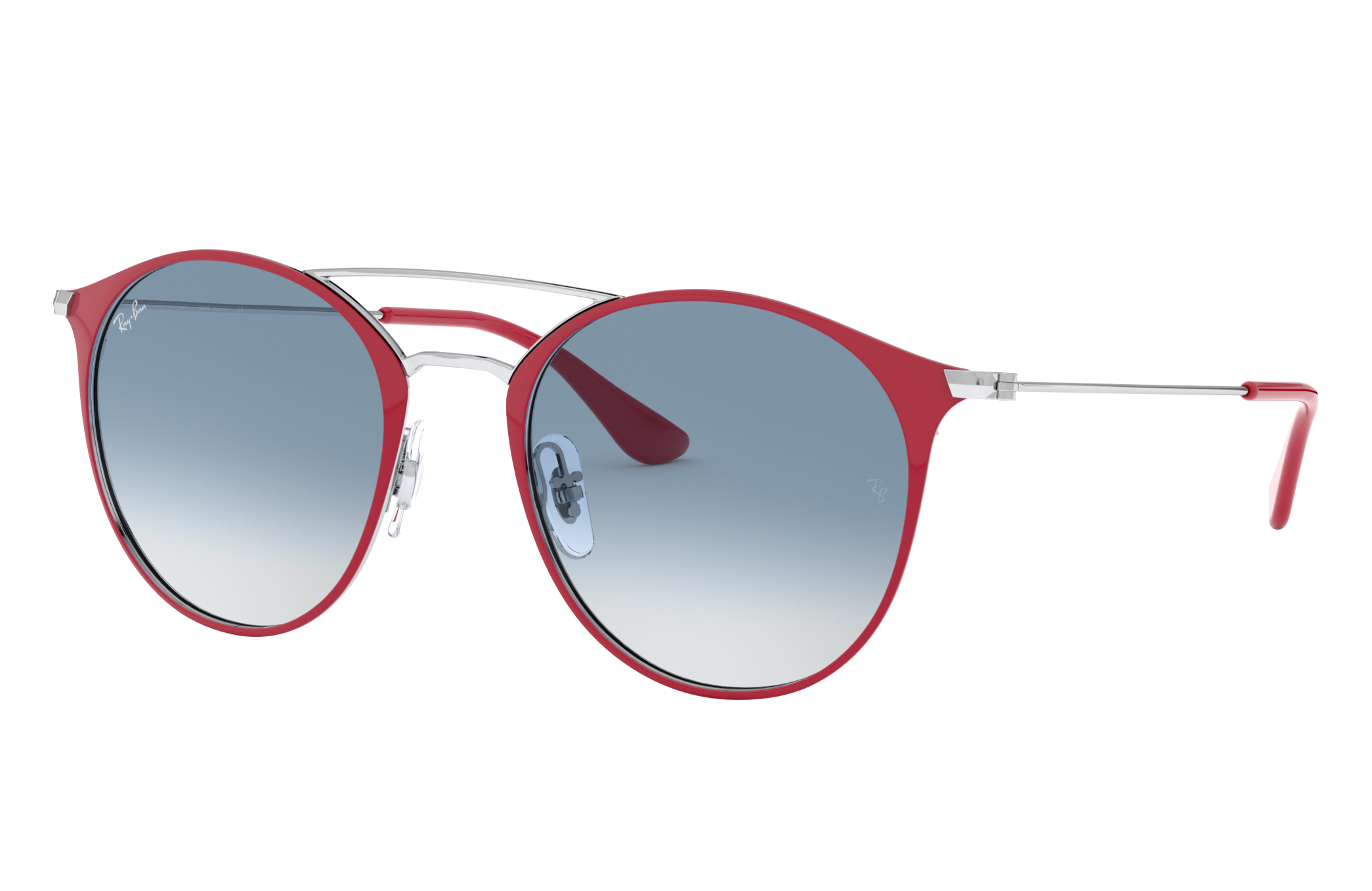 Ray-Ban Rb3546 Silver, Blue Lenses - RB3546