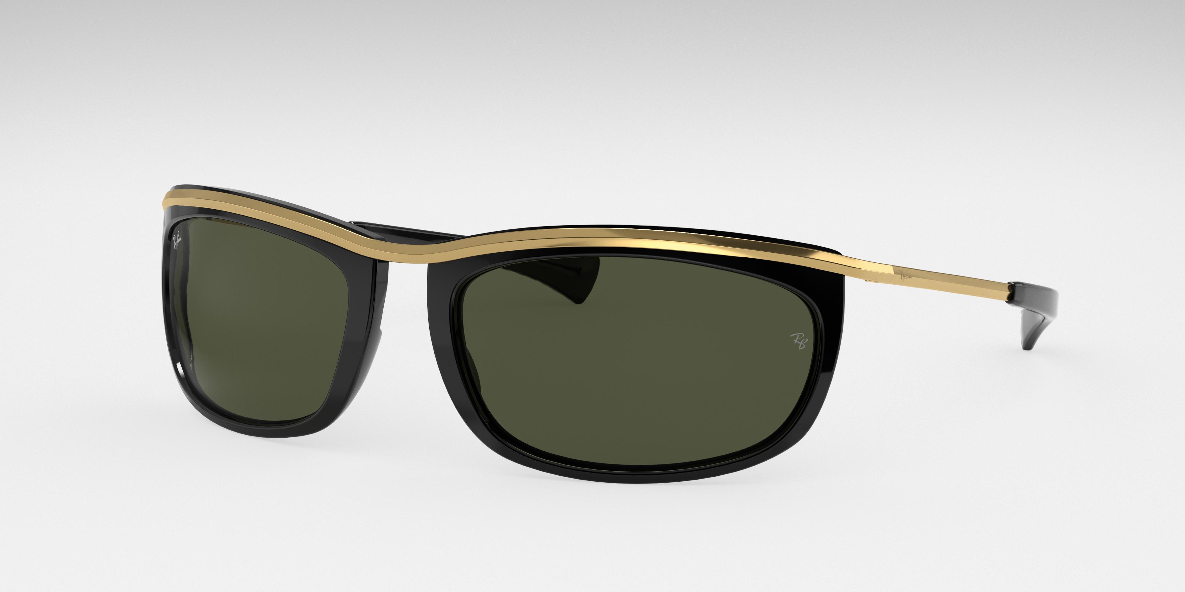 Ray-Ban Olympian I Gold, Green Lenses - RB2319