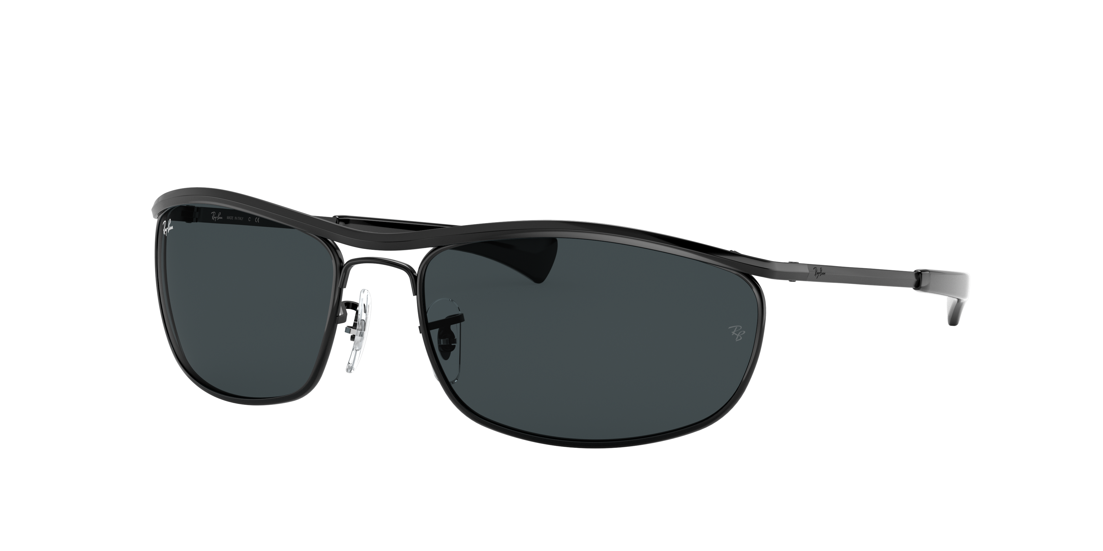 Ray-Ban Olympian I Deluxe Black, Blue Lenses - RB3119M