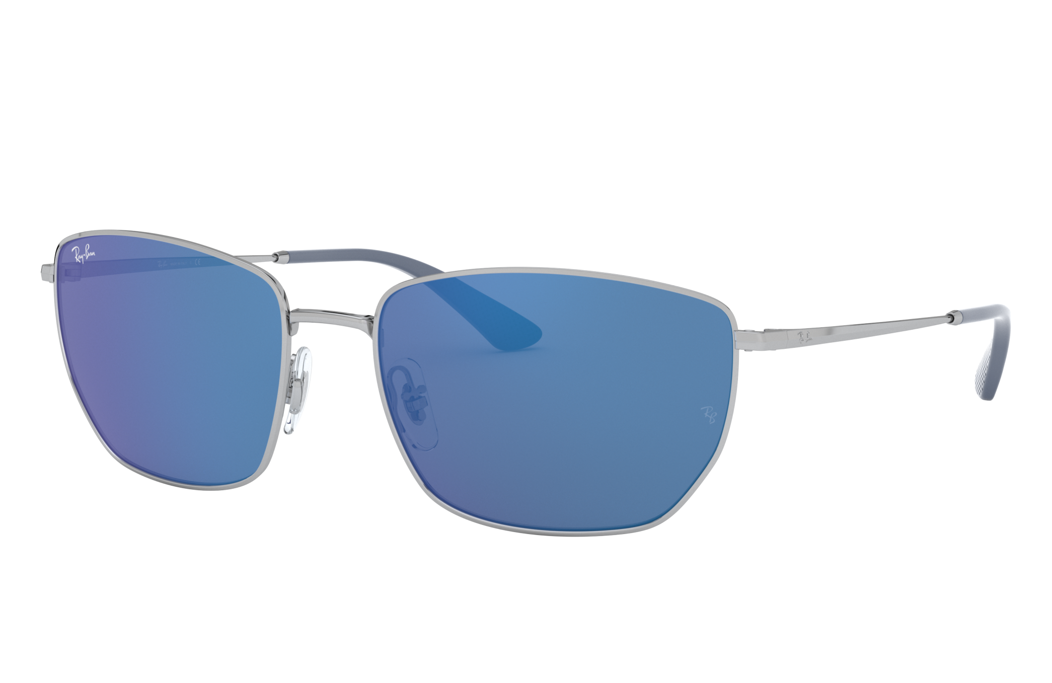Ray-Ban Rb3653 Silver, Blue Lenses - RB3653