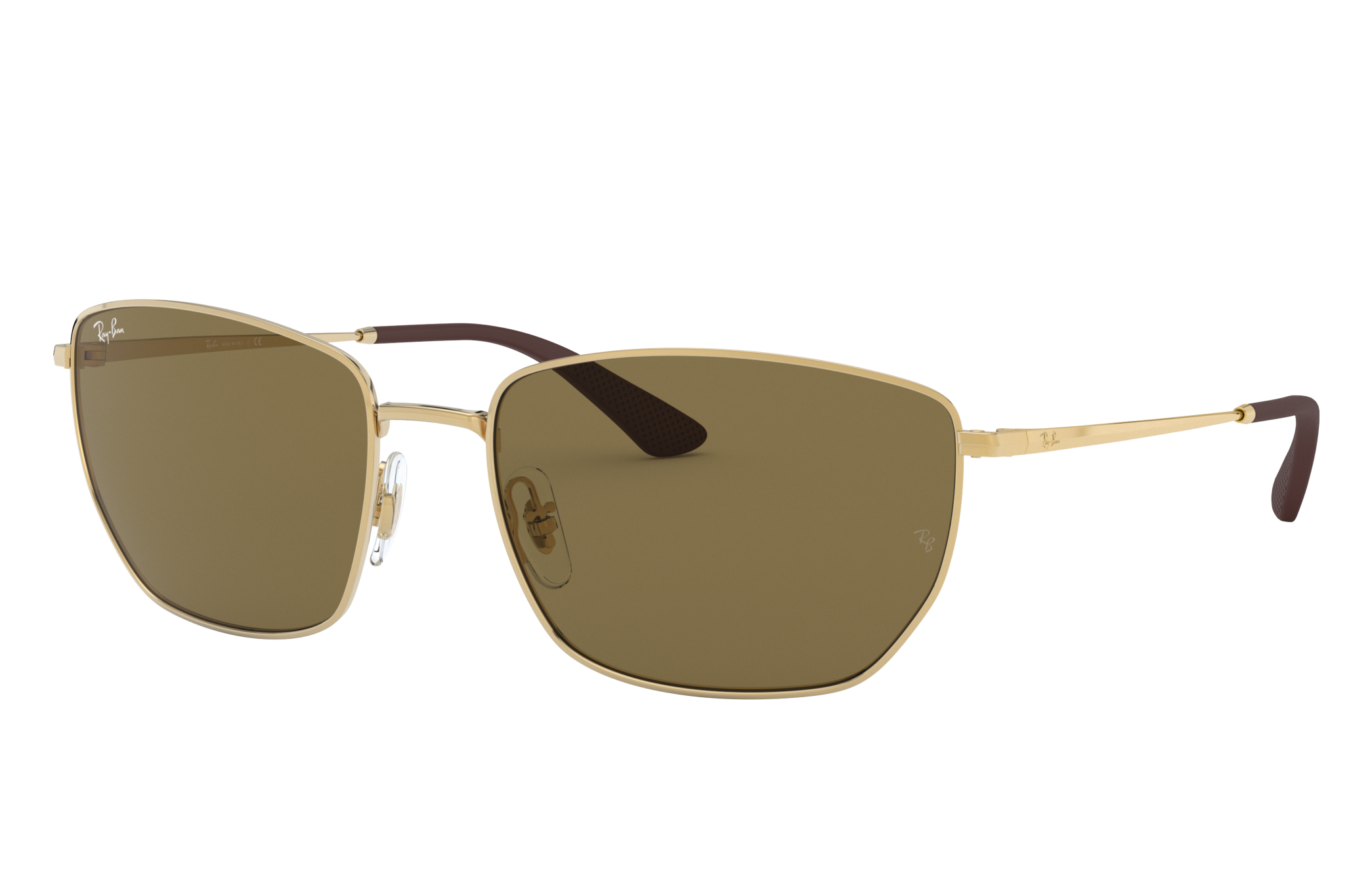 Ray-Ban Rb3653 Gold, Brown Lenses - RB3653