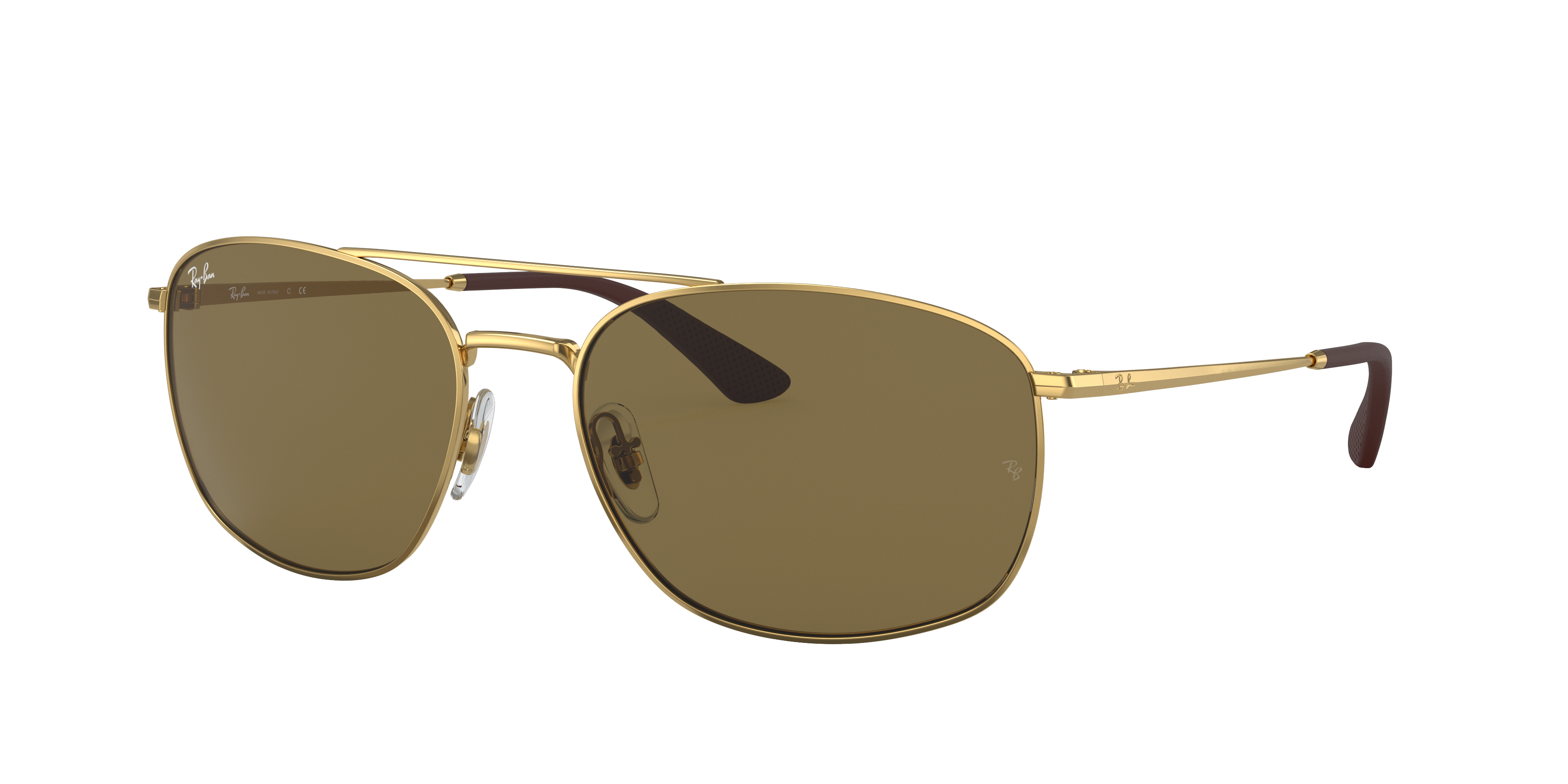 Ray-Ban Rb3654 Gold, Brown Lenses - RB3654