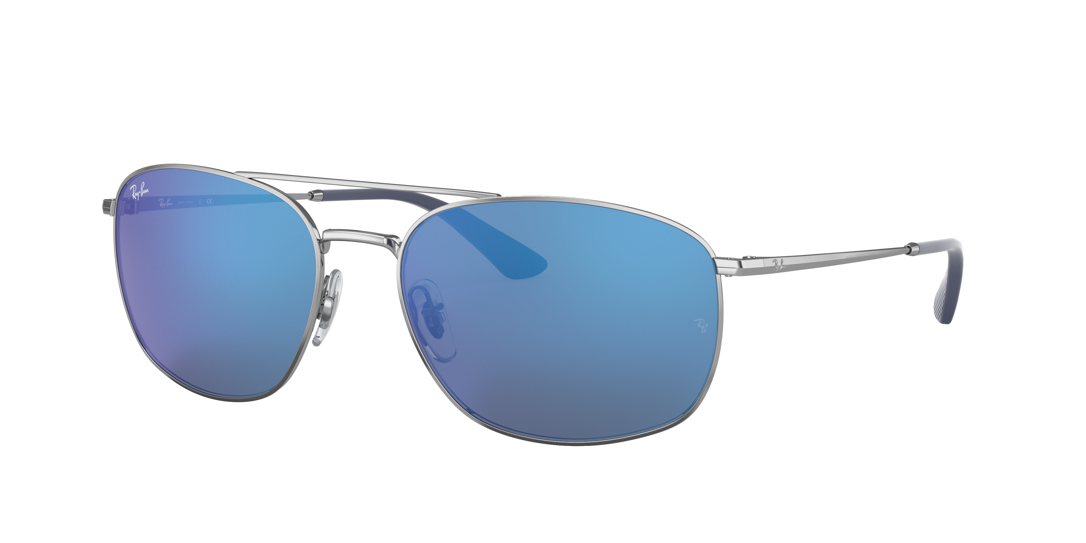Ray-Ban Rb3654 Silver, Blue Lenses - RB3654