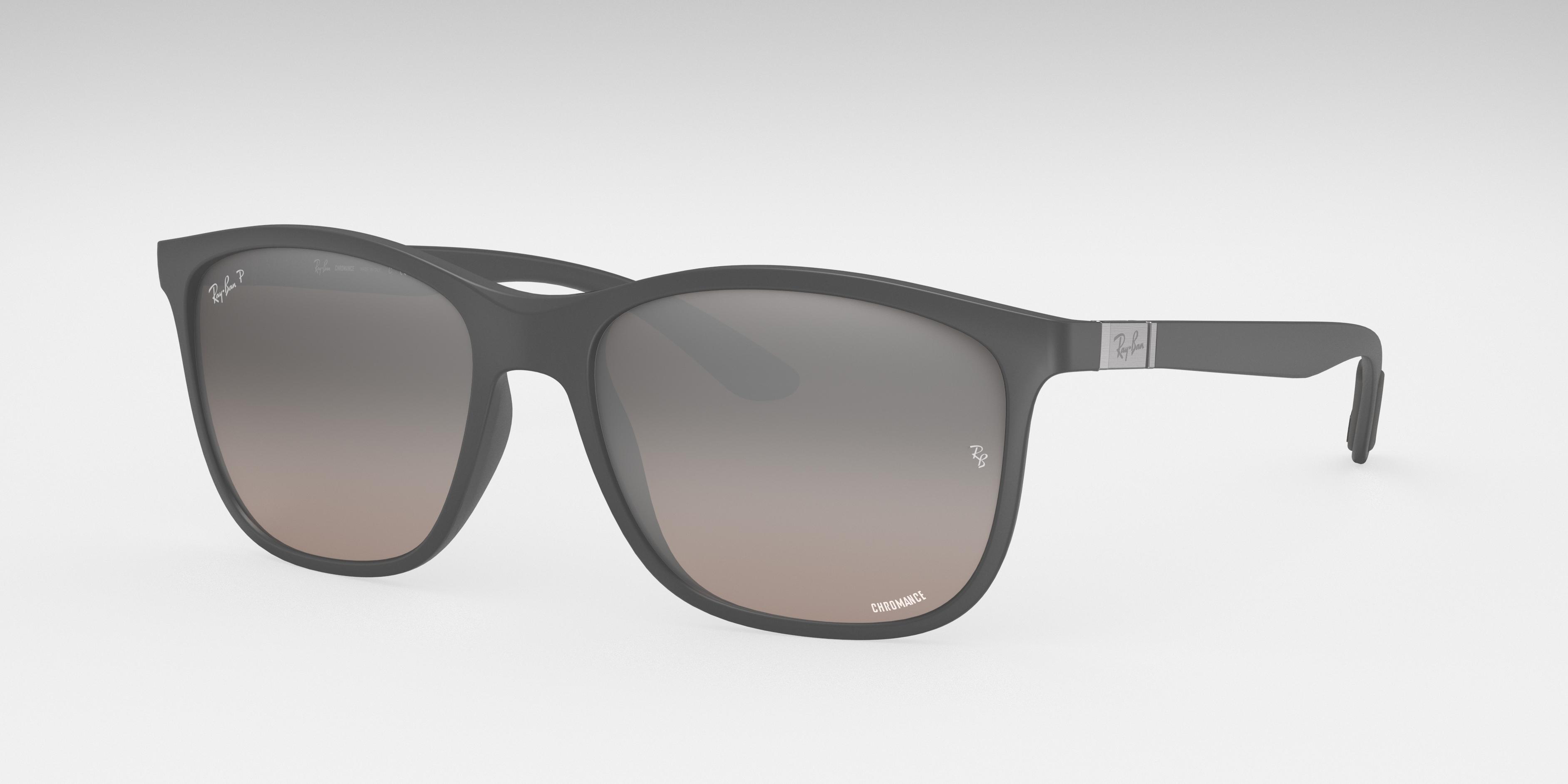 Ray-Ban Rb4330 Chromance Grey, Polarized Grey Lenses - RB4330CH