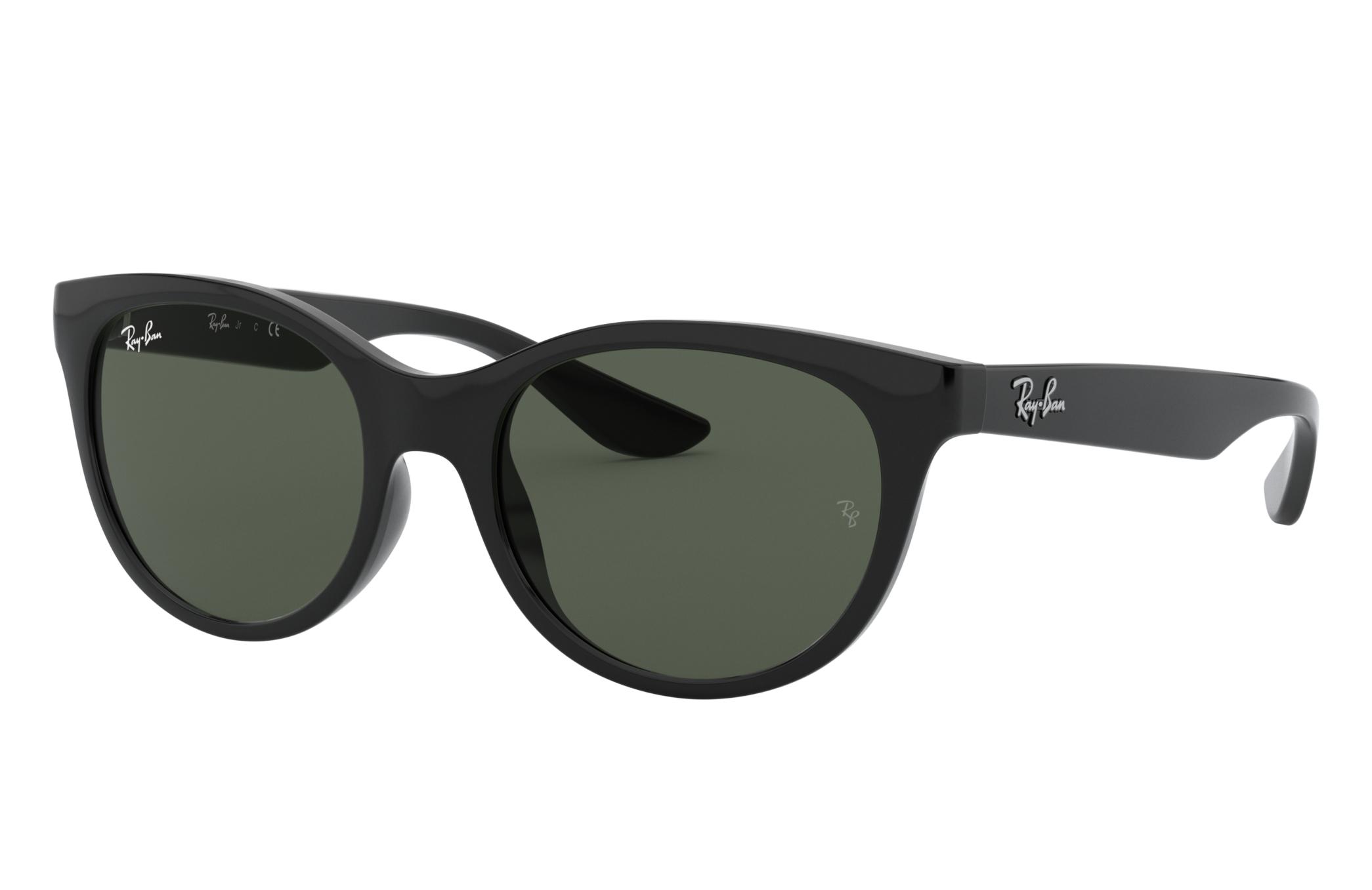 Ray-Ban Rj9068s Black, Green Lenses - RJ9068S