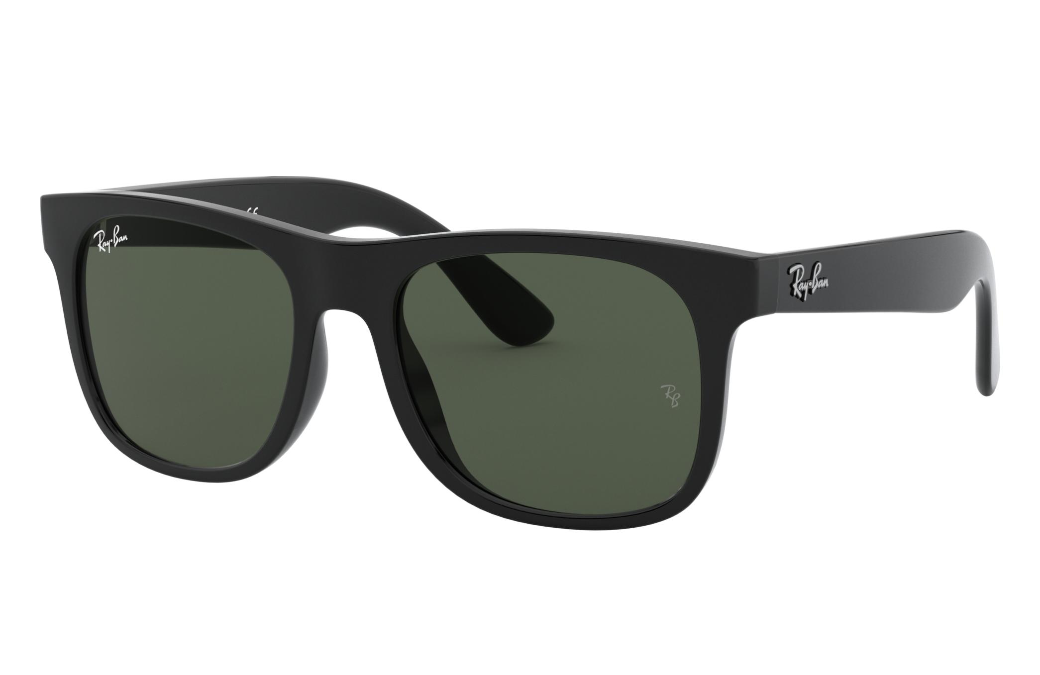 Ray-Ban Rj9069s Black, Green Lenses - RJ9069S