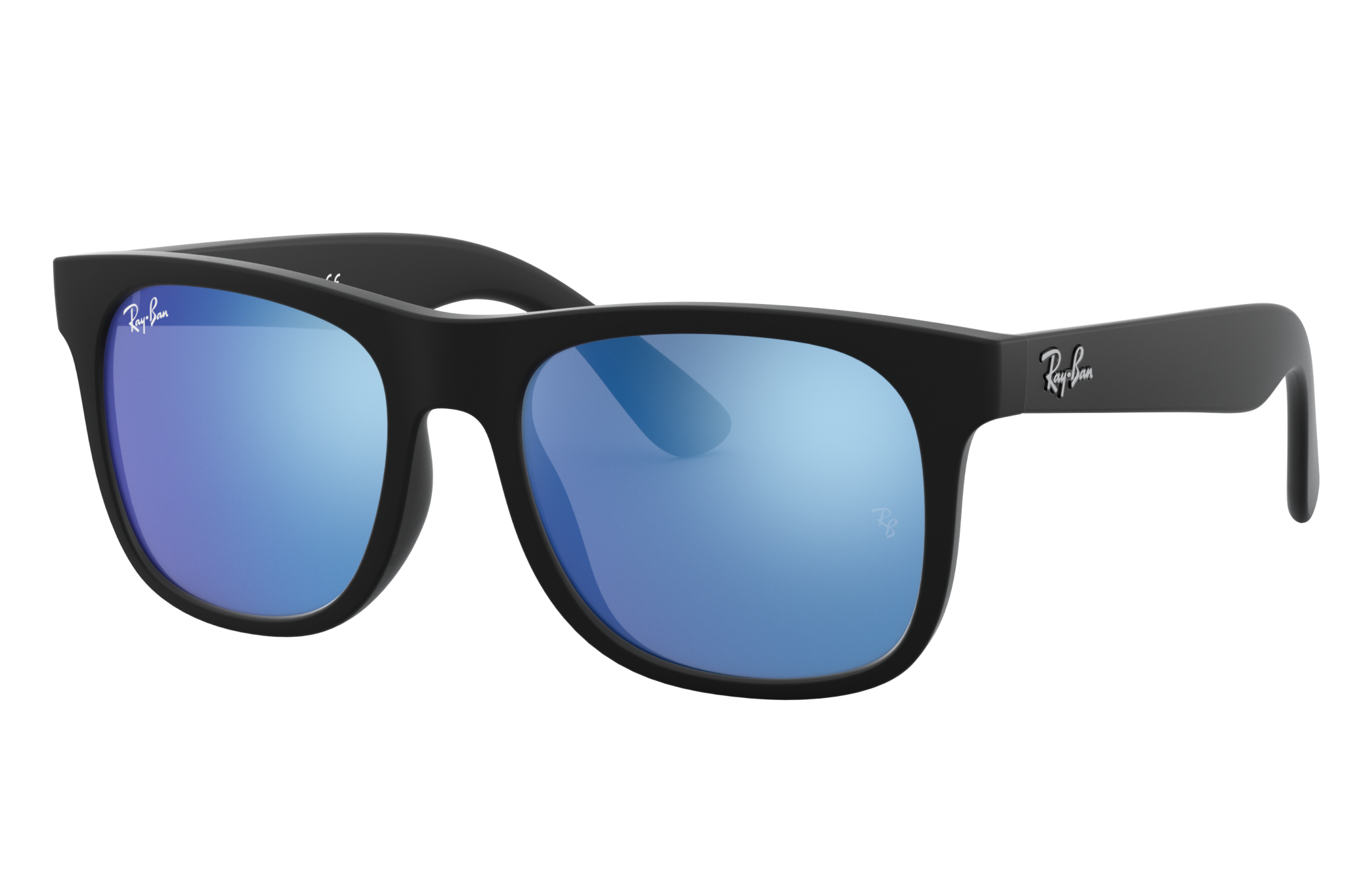 Ray-Ban Rj9069s Black, Blue Lenses - RJ9069S