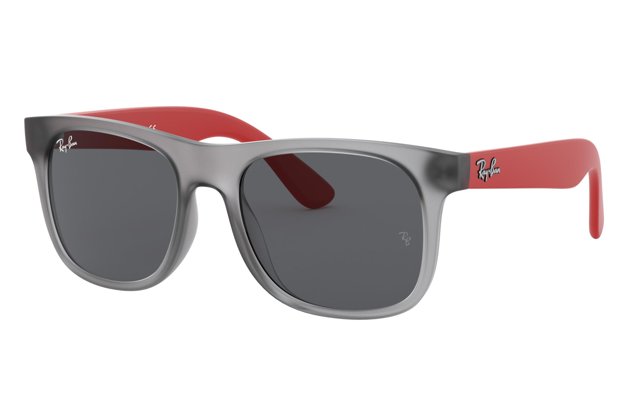 Ray-Ban Rj9069s Rubber Red, Grey Lenses - RJ9069S