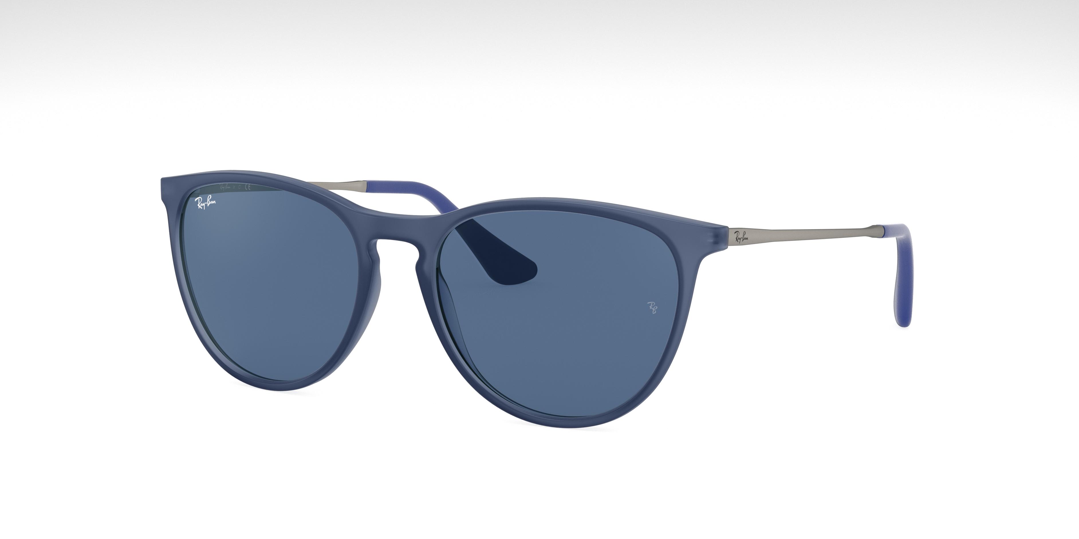 Ray-Ban Izzy Rubber Silver, Blue Lenses - RJ9060S