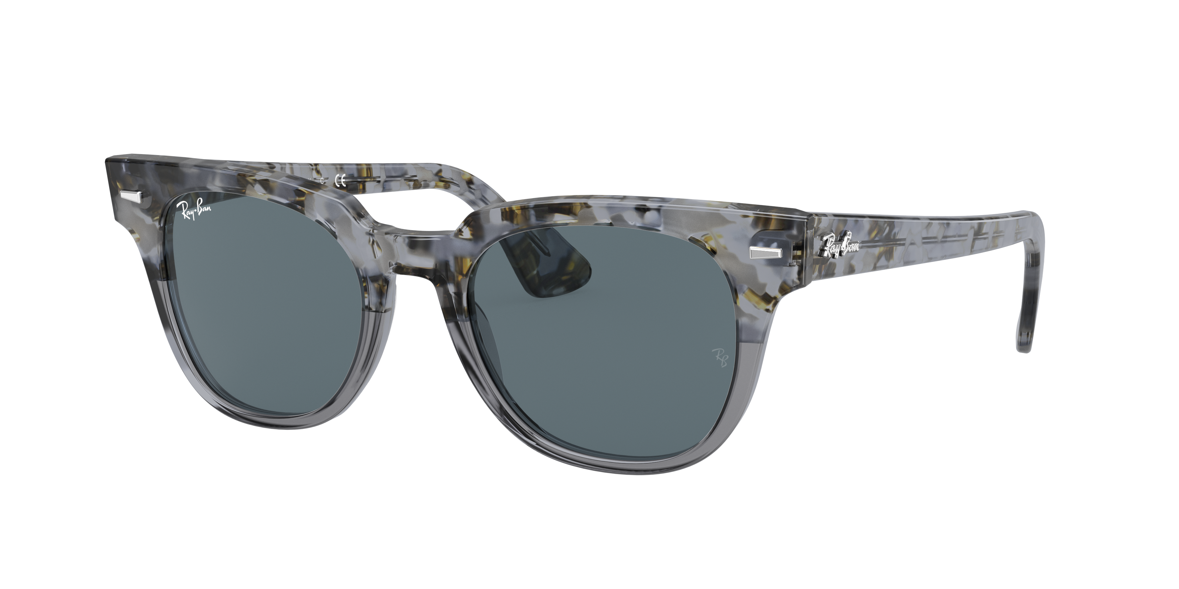 Ray-Ban Meteor Classic Grey, Blue Lenses - RB2168