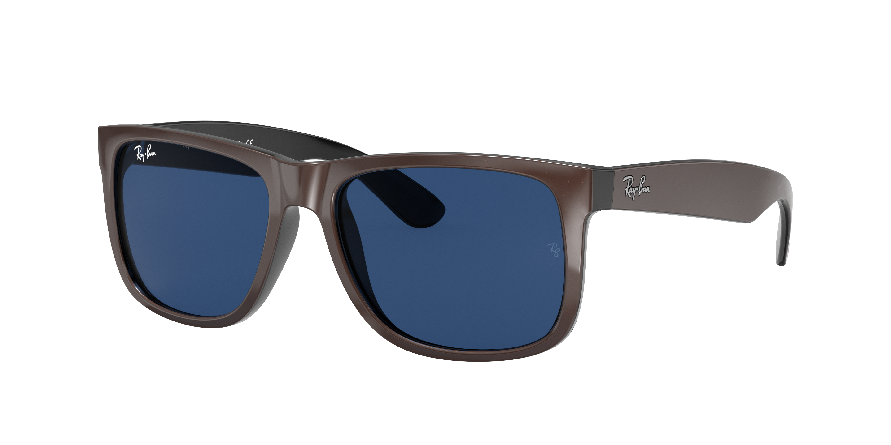 Ray-Ban Justin Color Mix Brown, Blue Lenses - RB4165