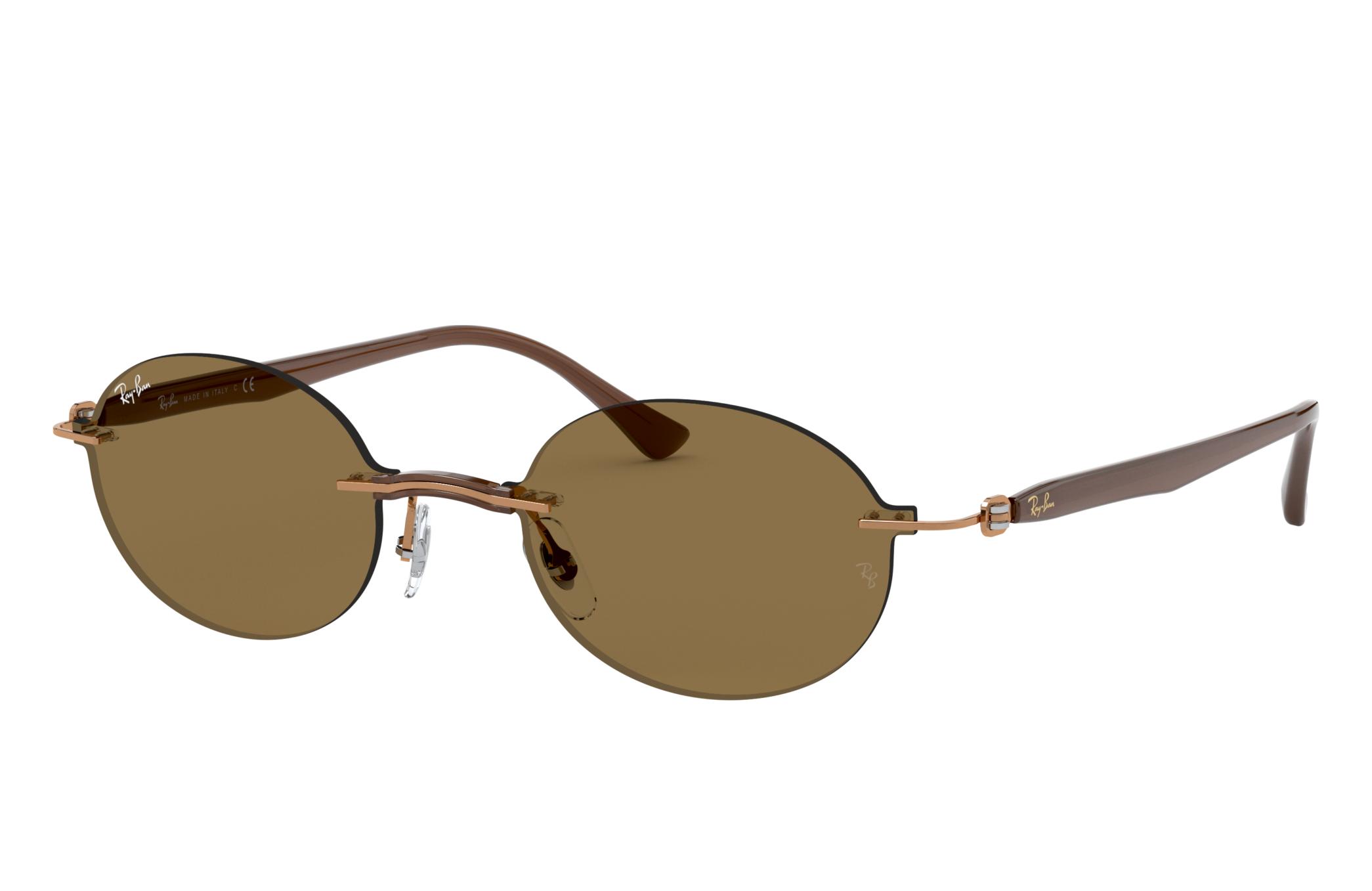 Ray-Ban Rb8060 Light Brown, Brown Lenses - RB8060