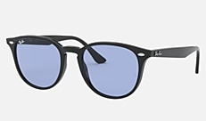 Ray-Ban RB4259F 601/80 53-20 RB4259F WASHED LENSES(JPフィット) ブラック 新作サングラス