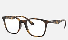 Ray-Ban RX7177F 2012 51-18 RX7177F(JPフィット) ハバナ 新作メガネ