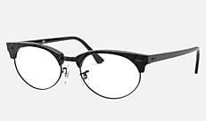 Ray-Ban RX3946V 8049 52-20 CLUBMASTER OVAL OPTICS リンクルブラック 新作メガネ