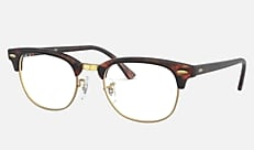 Ray-Ban RX5154 8058 49-20 CLUBMASTER MARBLE OPTICS タートイズ 新作メガネ