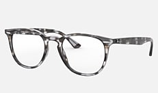 Ray-Ban RX7159F 8066 52-23 RX7159F(JPフィット) グレーハバナ 新作メガネ