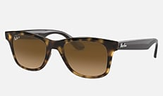 Ray-Ban RB4640F 710/M2 52-21 RB4640F(JPフィット) シャイニーハバナ 新作サングラス