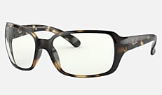 Ray-Ban RB4068 710/B5 60-17 RB4068 CLEAR ハバナ クリアレンズコレクション