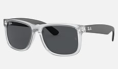 Ray-Ban RB4165F 651287 58-17 JUSTIN COLOR MIX(JPフィット) クリア 新作サングラス
