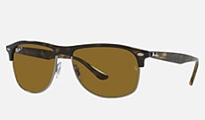 Ray-Ban RB4342 710/83 59-16 RB4342 ハバナ 新作サングラス